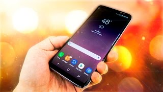 Trying the Samsung Galaxy S8