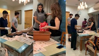 Actress Madhuri Dixit Setting Kitchen Garden At Home | IG Telugu - IGTELUGU