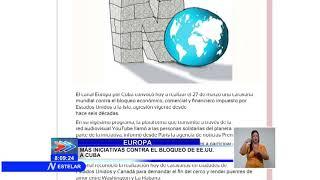 Desde Europa convocan a caravana mundial de solidaridad por Cuba