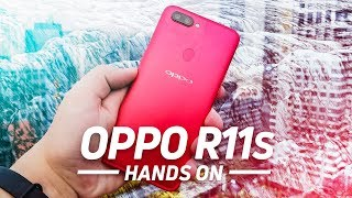 OPPO R11s Hands On