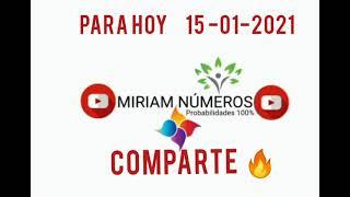 Para Hoy 15-01-2021 Miriam Números Bendiciones ????????????????