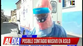 Coronavirus:  Posible contagio masivo en un asilo en Potosí