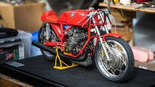 Glen English's Scratch-Built Motorcycle Replicas