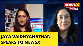 TAKE ON FINANCIAL STABILITY POST COVID WITH JAYA VAIDHYANATHAN | NewsX - NEWSXLIVE