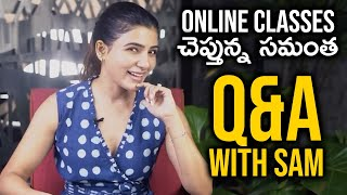 Samantha Akkineni Grow With Me Qbackslashu0026A | Samantha About Growing Indoor Plants  | TFPC - TFPC