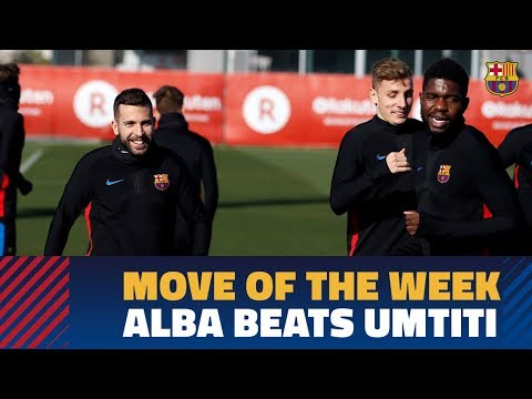 MOVE OF THE WEEK #11 | Jordi Alba scores on Samuel Umtiti the goalkeeper