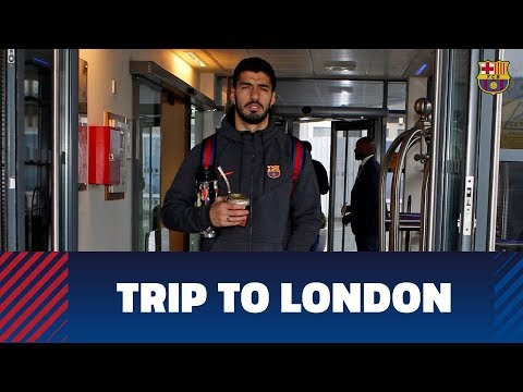 Trip to London ahead of Chelsea-Barça