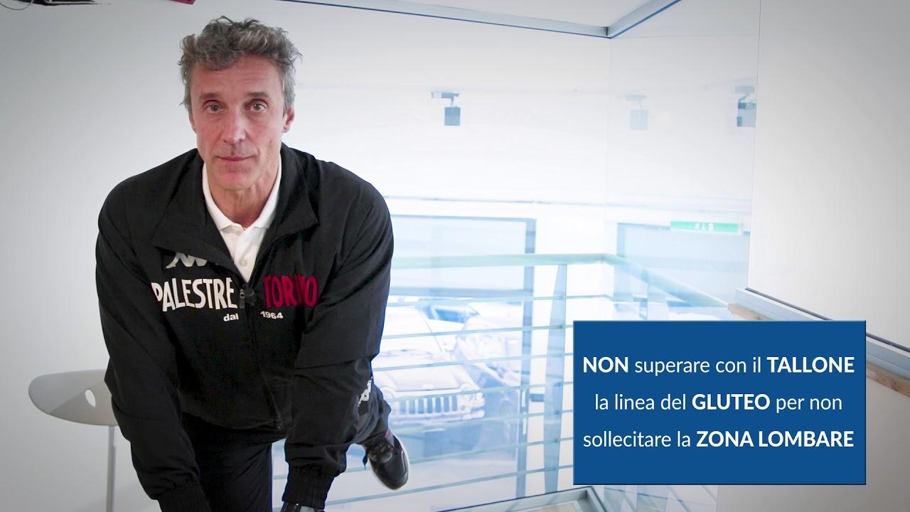 Ginnastica da ufficio con Luciano Gemello