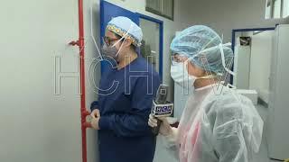 #ExclusivaHCH Desde el interior del laboratorio en la UNAH-VS,