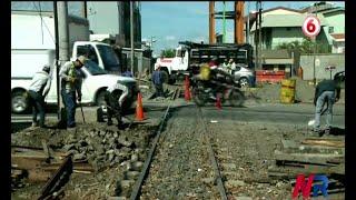 Inician trabajos en línea férrea en San Pedro