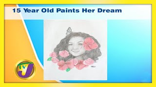 15 Year Old Paints Her Dream: TVJ Smile Jamaica - December 3 2020