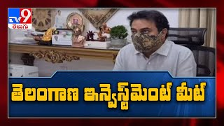 Telangana is a safe investment destination, says IT minister KTR - One minute full news - TV9 - TV9