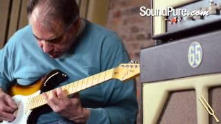 Tom Anderson Guitarworks Classic Tobacco Burst Electric Guitar Demo