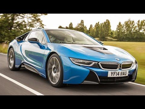 Radical new BMW i8 hybrid sports car driven