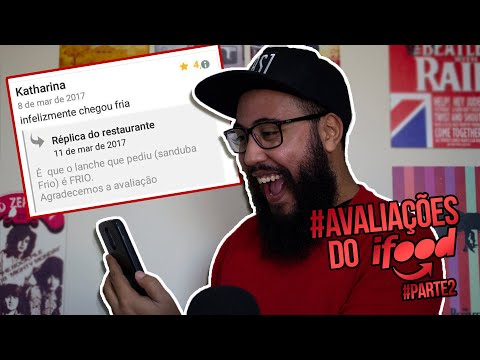 TENTE NÃO RIR DAS CONVERSAS DO IFOOD   ‹Robson Santos›