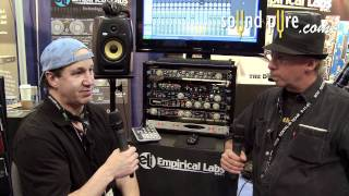 The 500-Series DocDerr by Empirical Labs Guitar Demo at AES 2011