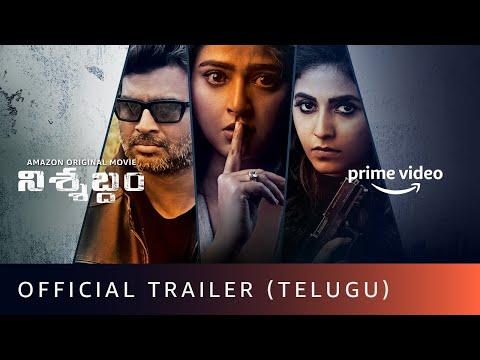 Nishabdham - Official Trailer (Telugu) | R Madhavan, Anushka Shetty | Amazon Original Movie | Oct 2