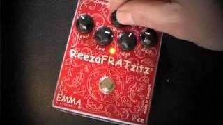 Emma Reezafratzitz II Overdrive Pedal Demo