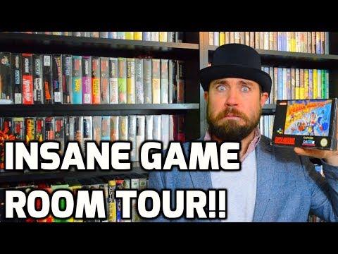 connectYoutube - Insane Game Room Tour! - Over A Dozen Games! - Sega, Atari, Nintendo Collecting - THGM