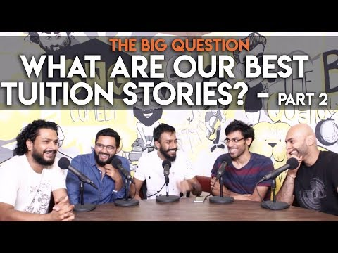 SnG: What Are Our Best Tuition Stories? feat. Biswa Kalyan Rath   The Big Question S2 Ep14 Part 2