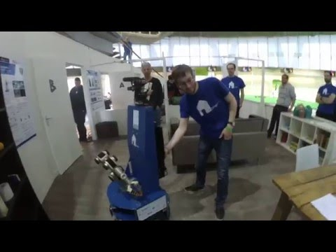 RoboCup 2016 EuropeOpen Eindhoven Object Recognition and Manipulation