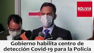 INSTALAN CENTROS COVID19 POLICÍA