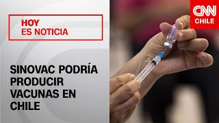 """Dir. Ejecutivo del estudio Sinovac en Chile: """"El interés está en retomar la producción de vacunas"""""""