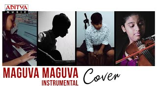 Maguva Maguva Instrumental Cover || VakeelSaab Movie - ADITYAMUSIC