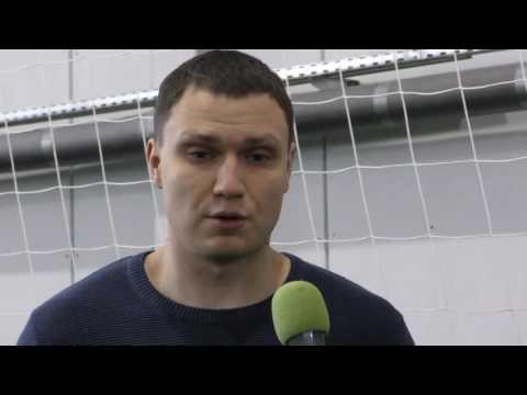 Сюжет НБФ о встрече болельщиков с футболистами \Томи\
