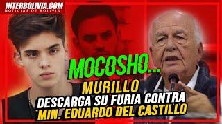 """???? Murillo llama """"mocoso"""" al Min. de Gobierno y dice que es un """"títere"""" del comandante de la Policía"""