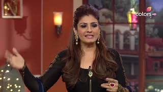 Comedy Nights with Kapil - Raveena goes 'tit for tat' with Kapil! - COLORSTV