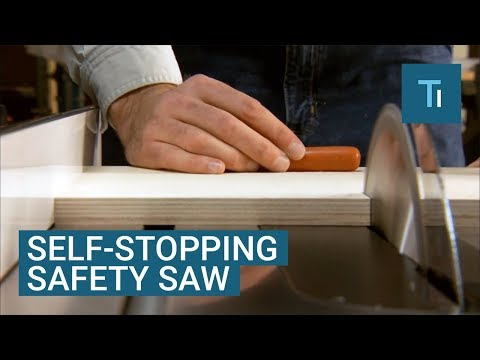 This Saw Will Automatically Stop Itself Before It Hits Your Fingers — Here's How