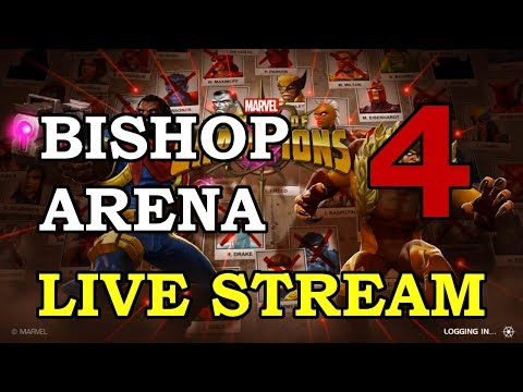 connectYoutube - Bishop Arena - Part 4 | Marvel Contest of Champions Live Stream