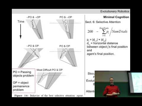Evolutionary robotics Lecture 10: Active categorial perception. (Recorded Feb 15, 2018)