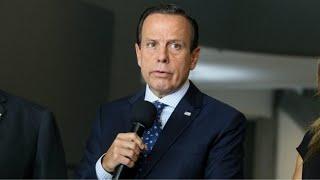 Doria anuncia novas medidas no combate à pandemia em SP - 01/07