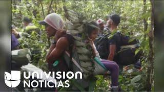 La travesía de los colombianos que cruzaron la selva del Amazonas desde Perú para llegar a su país