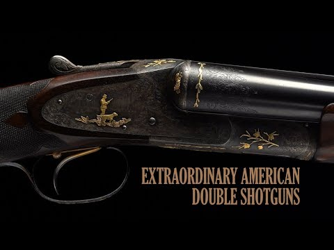 Extraordinary American Double Shotguns