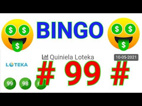 SORTEOS de HOY....!!  (( 99 )) BINGO HOY / Loteria LOTEKA HOY / RESULTADOS de las LOTERÍAS/ PREMIOS.