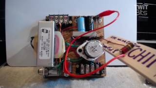 Pine Board Transmitter Power Supply