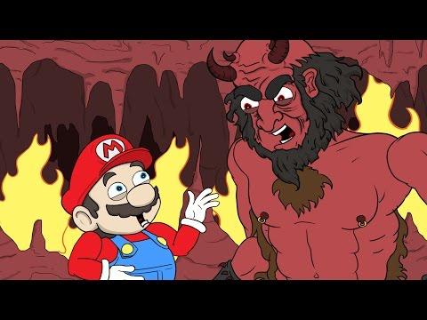 "connectYoutube - Super Mario Run Parody | ""Mario Goes To Hell"""