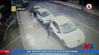 OIJ busca a sospechosos de tachar vehículo en Guadalupe