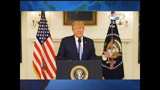 Trump condena violencia en el Capitolio y promete transición ordenada