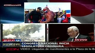 Diversas representaciones en Plaza de la Bandera para manifestación cívica denominada Trabucazo 2020