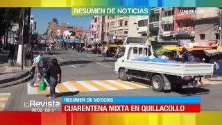 Manténgase informado con nuestro resumen de noticias en Cochabamba