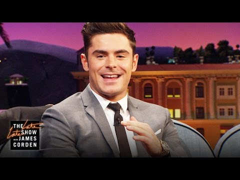 Zac Efron Kissed The Rock and He Liked It