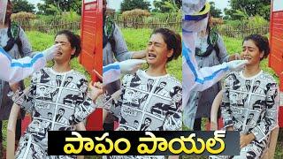 Payal Rajput Crying While Doing Covid Test | RX 100 Payal Rajput Latest Video | IG Telugu - IGTELUGU