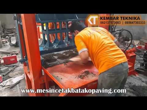 Mesin Pres Batako Paving Hidrolik
