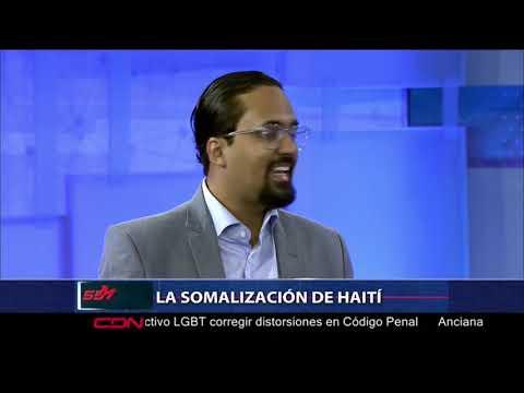 Bartolomé Pujals considera Haití está preparada para la somalización