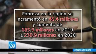 "Pandemia asfixia a la ""ya de por sí"" reprimida Latinoamérica"
