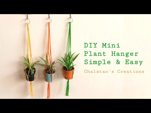 How-to-make-a-plant-hanger-วิธ